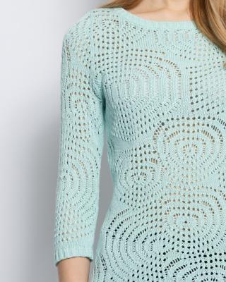 Пуловер с люрексом доставка