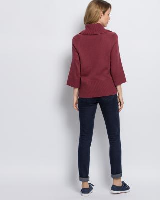 Пуловер с широким воротником доставка