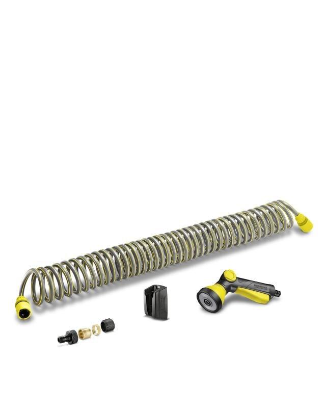 Фото - Шланг спиральный с аксессуарами Karcher 2.645-178.0 комплект для подключения авд шланг адаптеры karcher 2 645 156