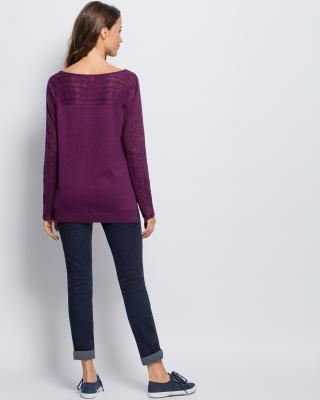 Пуловер вырез лодочка доставка