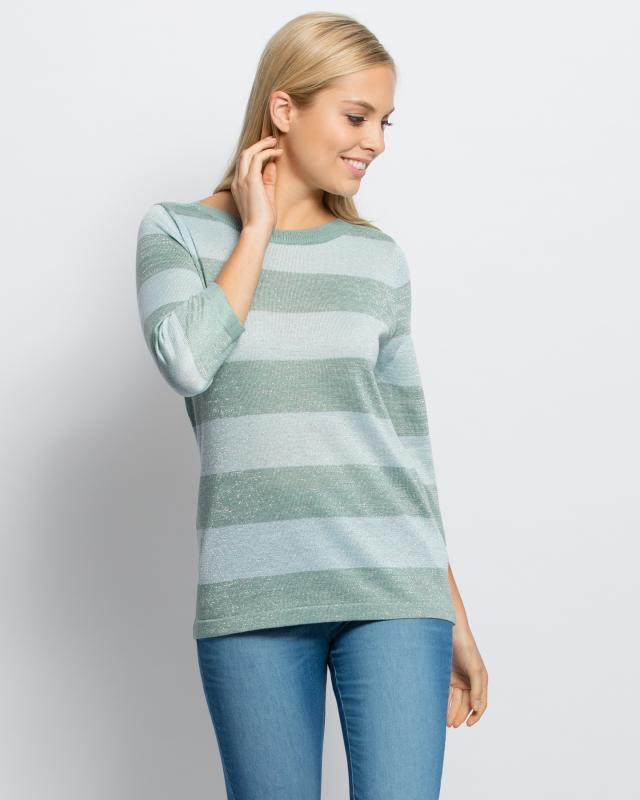 Пуловер, р. 56, цвет светло-синий