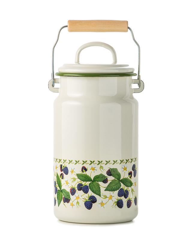 Бидон для молока с крышкой, 2 л Ежевика - shopping live IA73