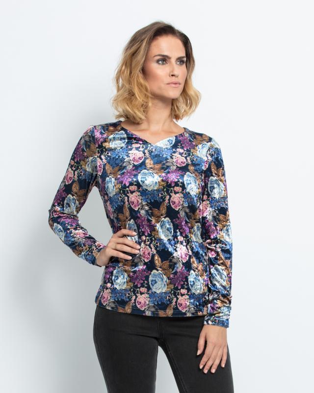 Блуза Alfredo Pauly Розы фото