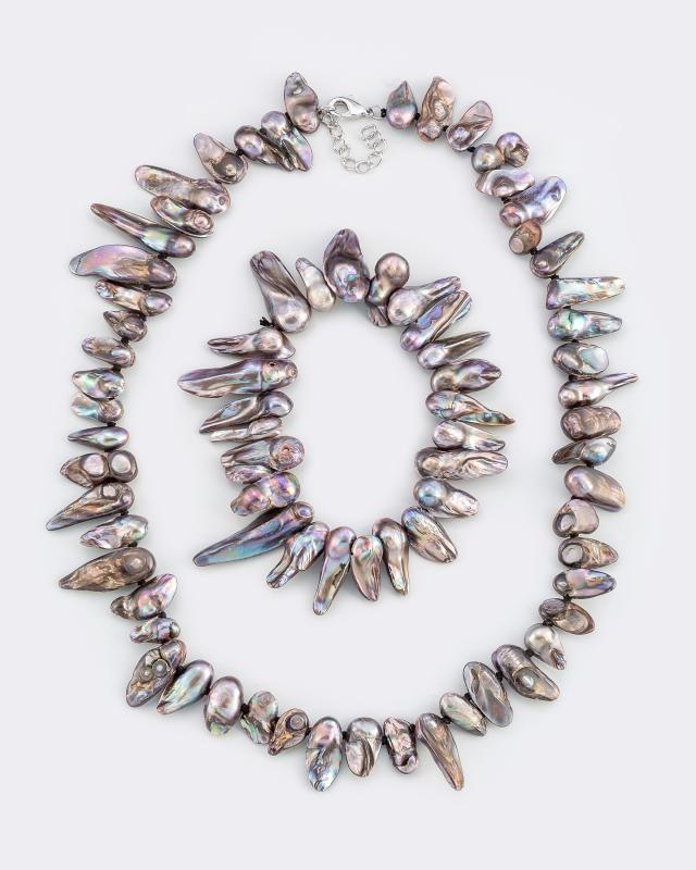 Колье и браслет Pearls Melody Bijou Line