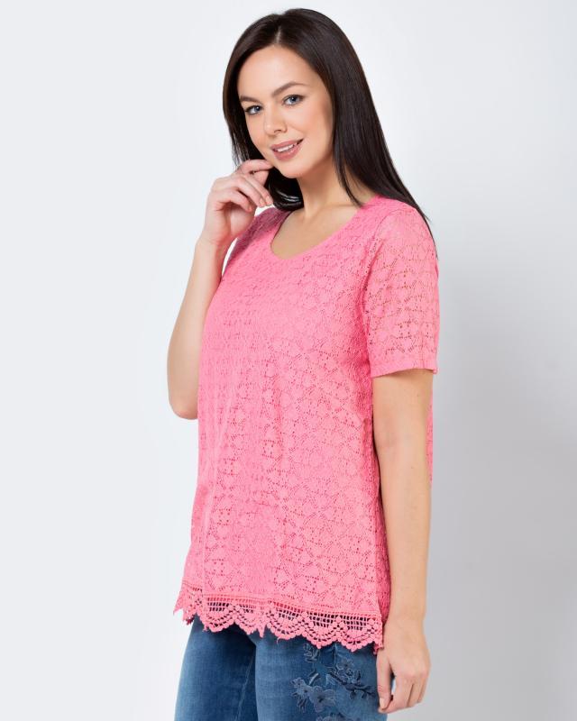 Блуза, р. 62, цвет розовый