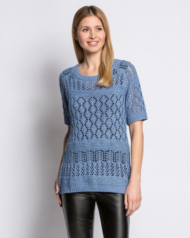 Пуловер, р. 44, цвет синий