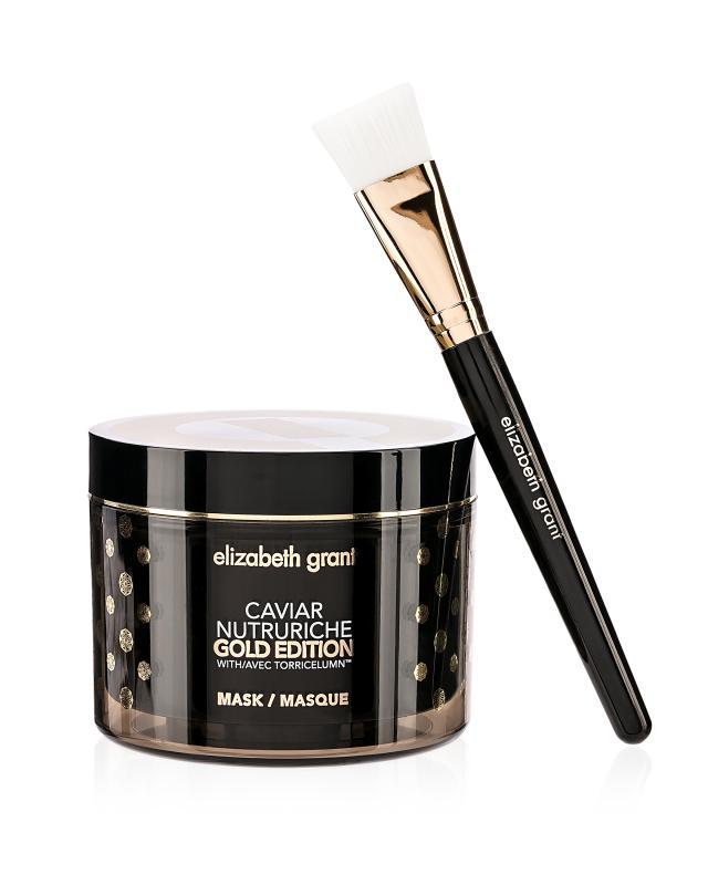 Маска для лица и шеи 200 мл + кисть Elizabeth Grant Caviar Nutruriche