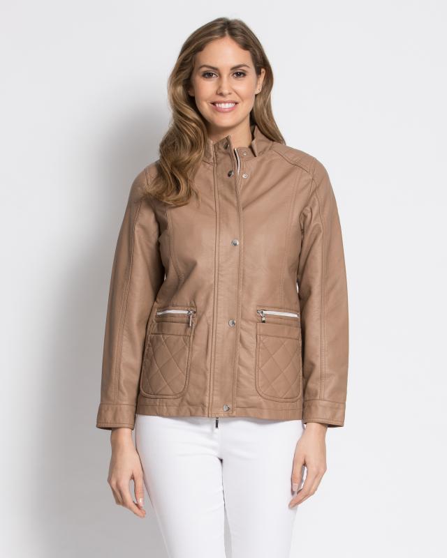 Куртка, р. 58, цвет коричневый