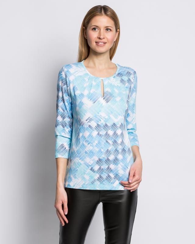 Блуза, р. 56, цвет темно-синий
