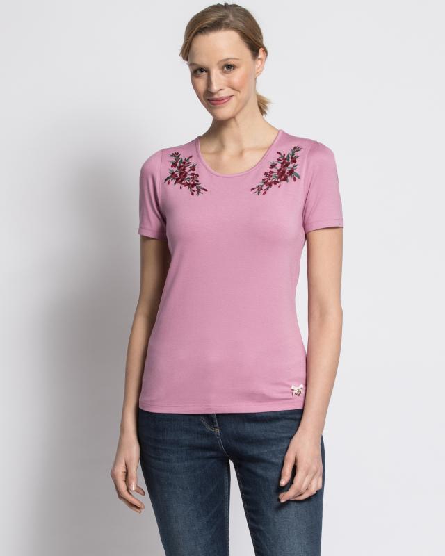Блуза, р. 58, цвет бледно-розовый