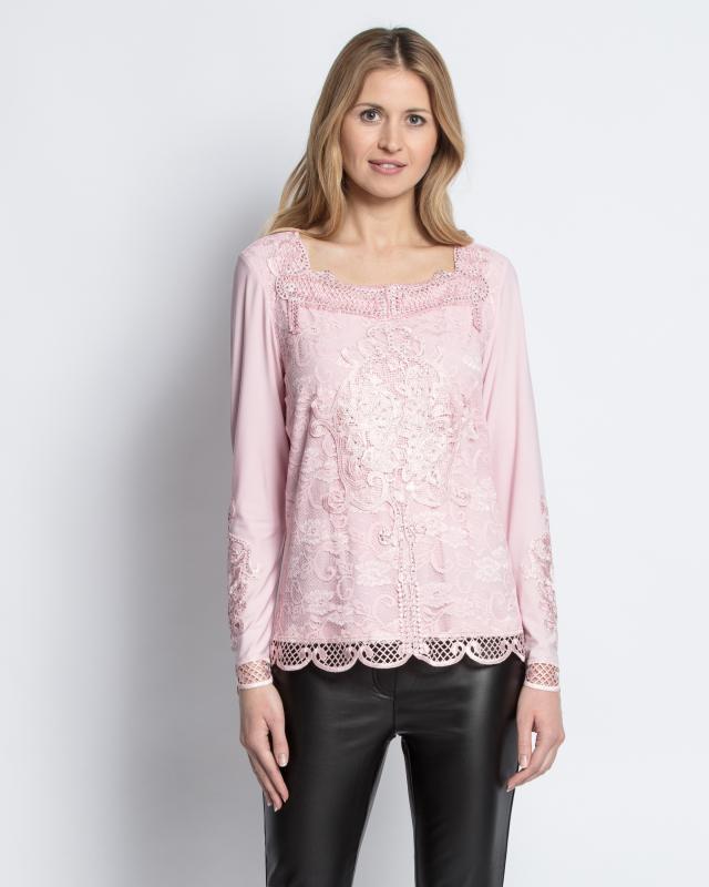 Блуза, р. 44, цвет розовый