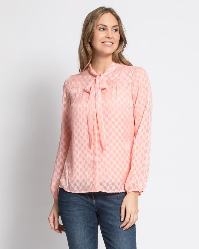 Блузы, 2 шт., р. 60, цвет розовый