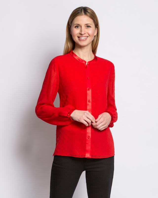 Блуза, р. 54, цвет красный