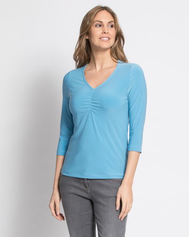 Блуза, р. 50, цвет синий