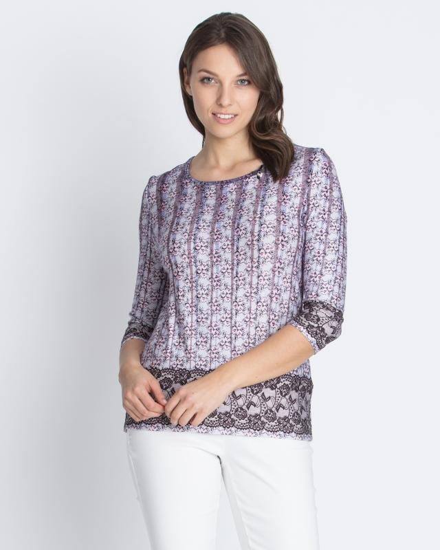 Блуза, р. 44, цвет лиловый