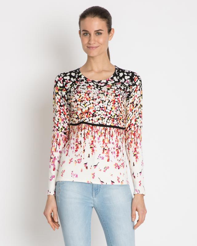 Пуловер, р. 54, цвет мультиколор