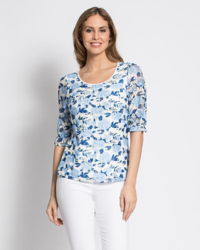 Блуза, р. 58, цвет белый
