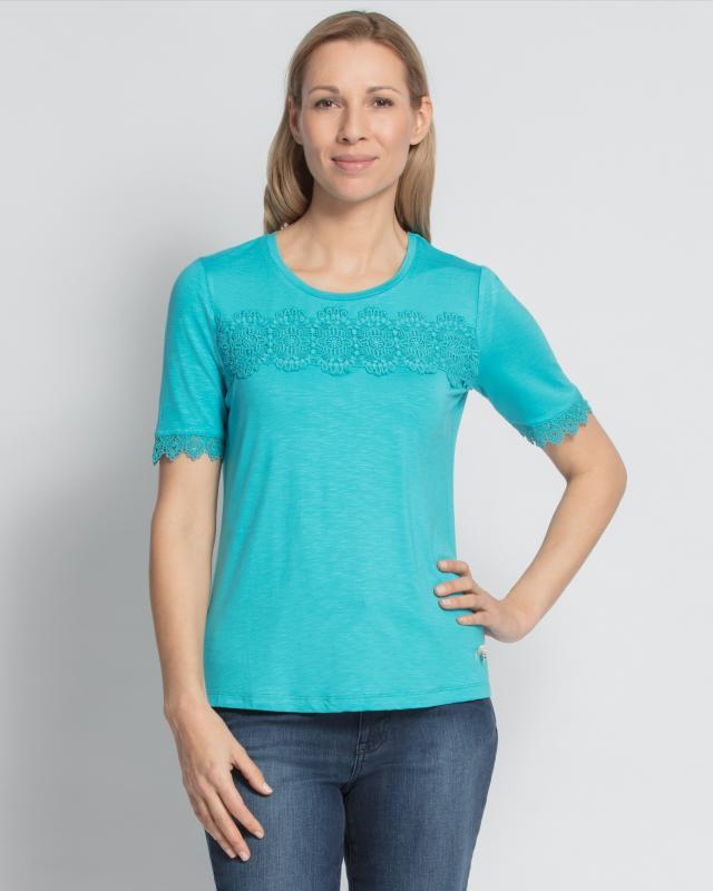 Блуза, р. 58, цвет бирюзовый