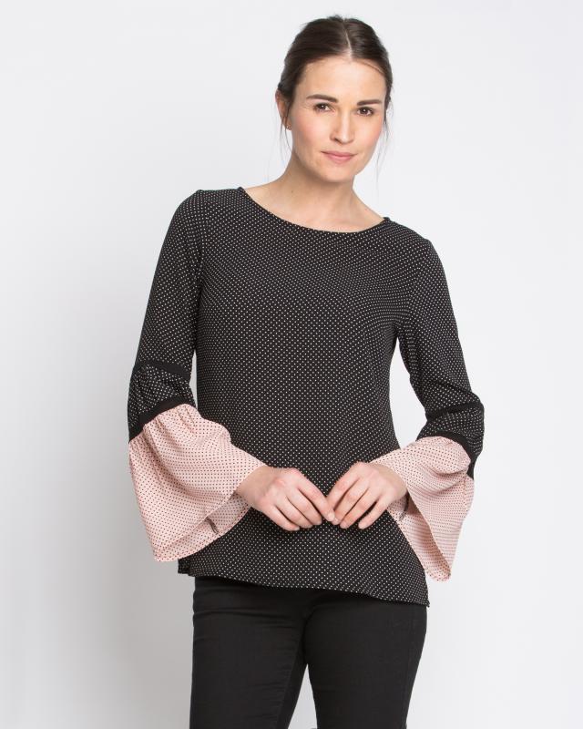 Блуза, р. 58, цвет черный