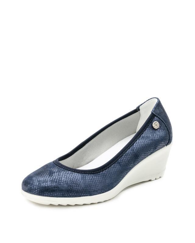Туфли, р. 39, цвет синий