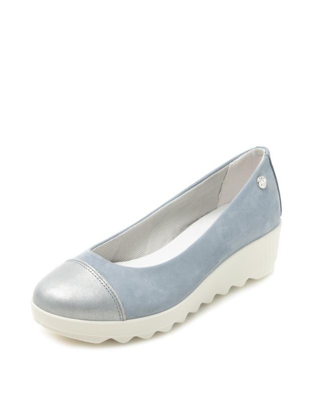 Туфли, р. 39, цвет голубой