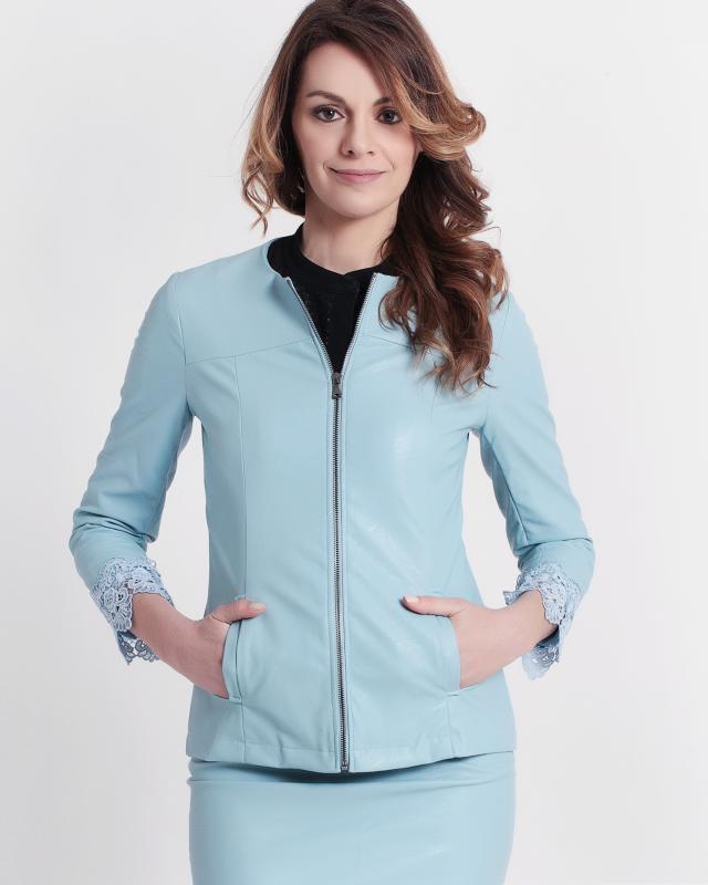Куртка, р. 50, цвет нежно-голубой