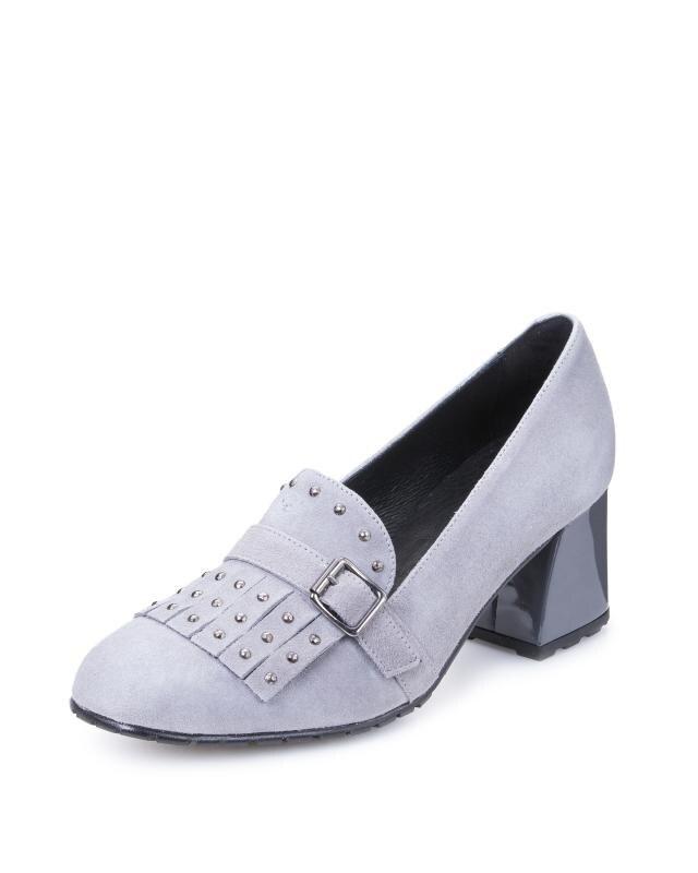 Туфли, р. 36, цвет серый