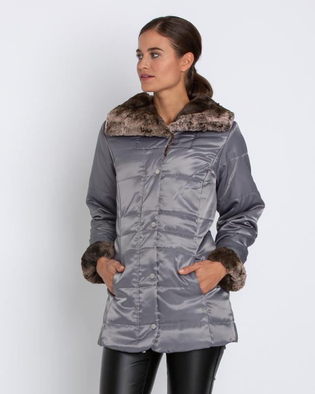 Куртка, р. 58, цвет светло-серый