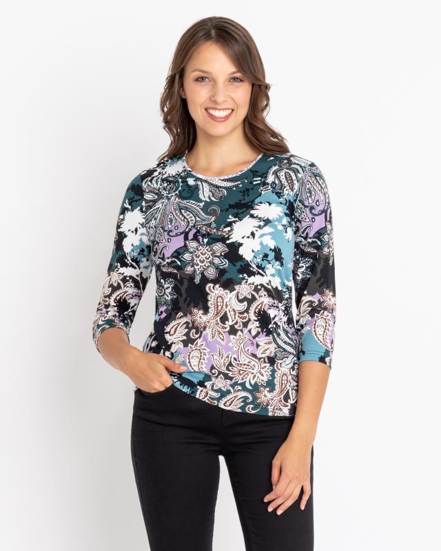 Блуза, р. 44, цвет бирюзовый