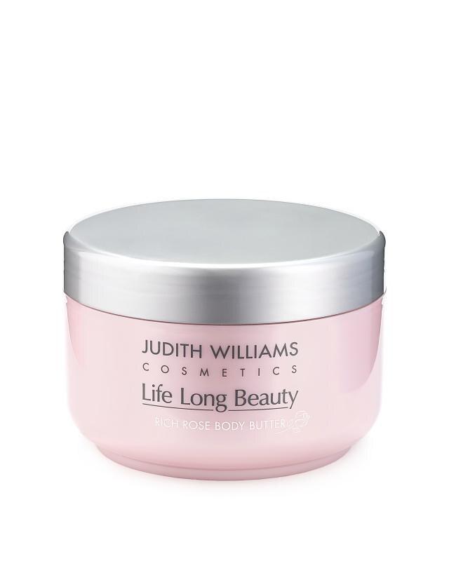 Крем-масло для тела с экстрактами розы 400 мл Judith Williams Life Long Beauty