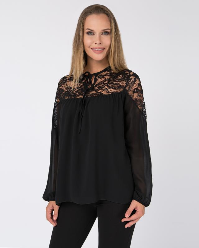 Блуза, р. 44, цвет черный