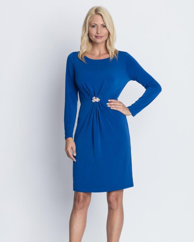 Платье, р. 52, цвет темно-синий
