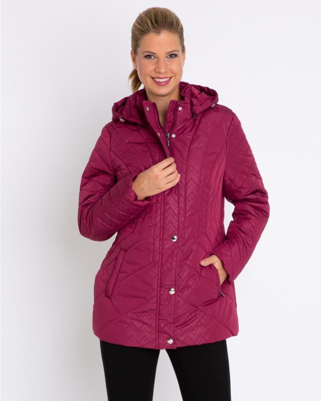 Куртка, р. 44, цвет ягодный