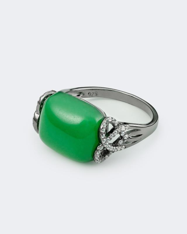 Кольцо Princess Jade jade en argent