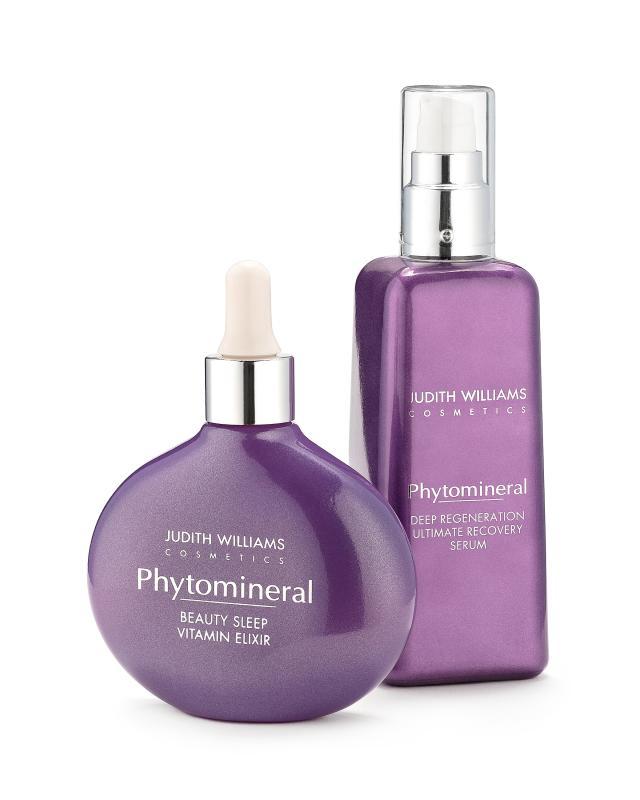 Дневная сыворотка и ночной эликсир для лица Judith Williams Phytomineral фото