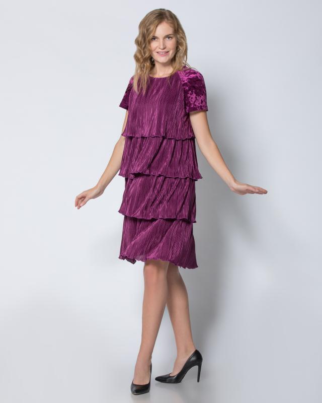 Платье, р. 56, цвет фиолетовый