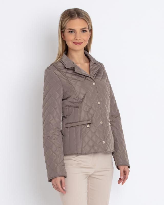 Куртка, р. 46, цвет серо-коричневый