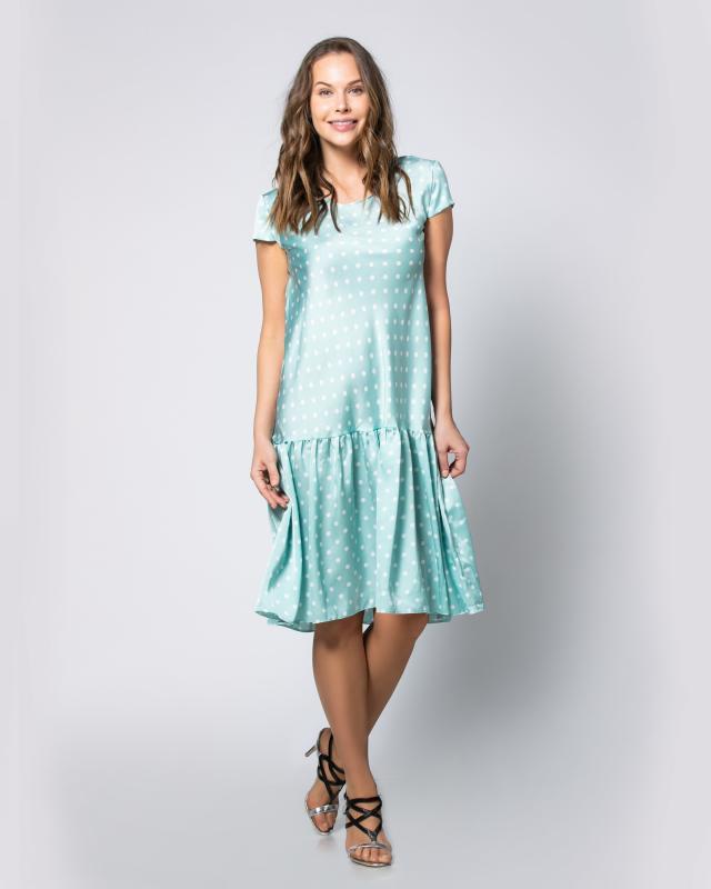 Платье, р. 46, цвет мята