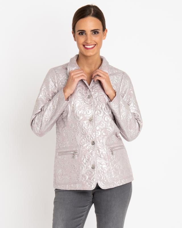 Куртка, р. 60, цвет розовый