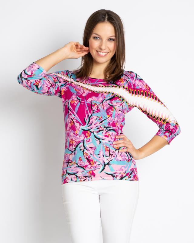 Пуловер, р. 54, цвет пурпурный
