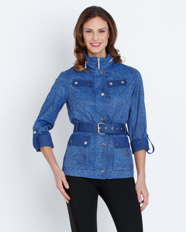 Куртка, р. 58, цвет синий