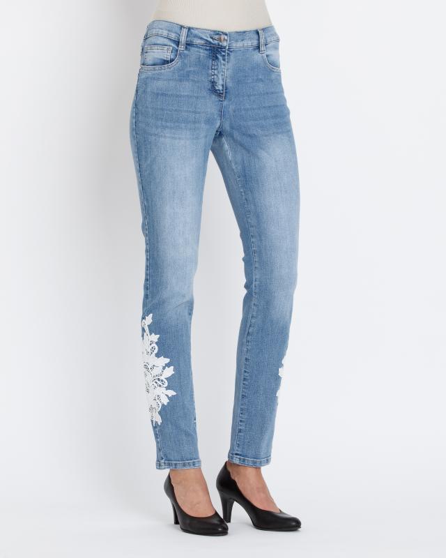 Джинсы Rita Pfeffinger fendi children джинсы с потертым декором