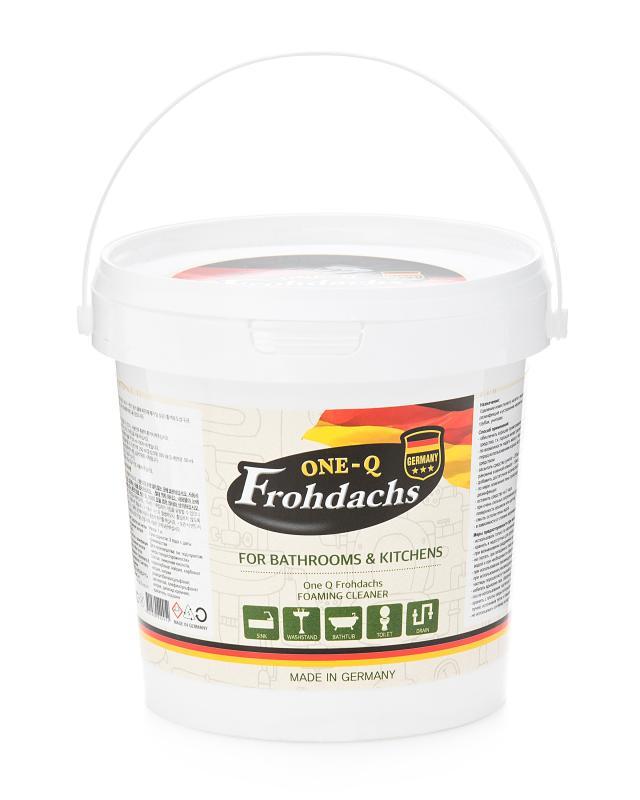 One-Q средство для чистки сантехники и удаления засоров,1 кг Frohdachs фото