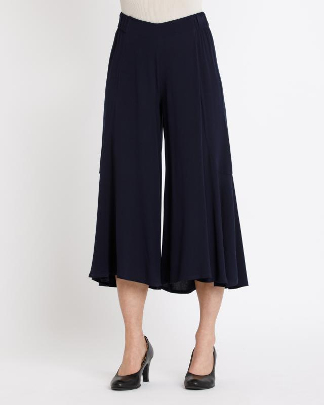 Юбка-брюки, р. 46, цвет темно-синий
