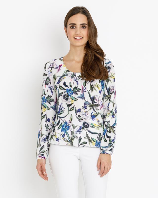 Блуза, р. 52, цвет белый