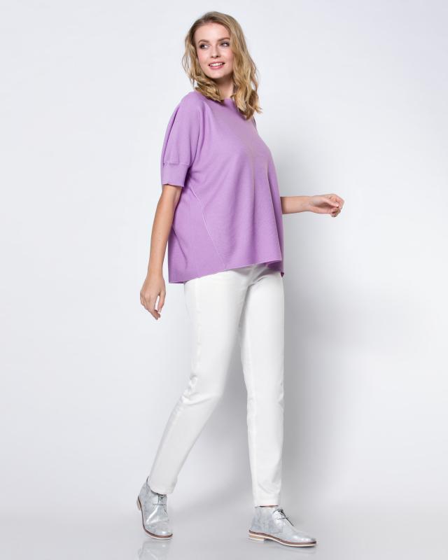 Пуловер, р. 46, цвет сиреневый