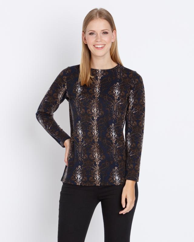 Пуловер, р. 54, цвет хаки