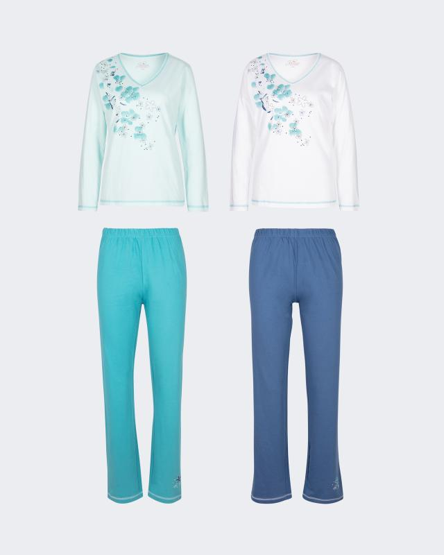Пижама, 4 вещи в комплекте Joliena Collection фото
