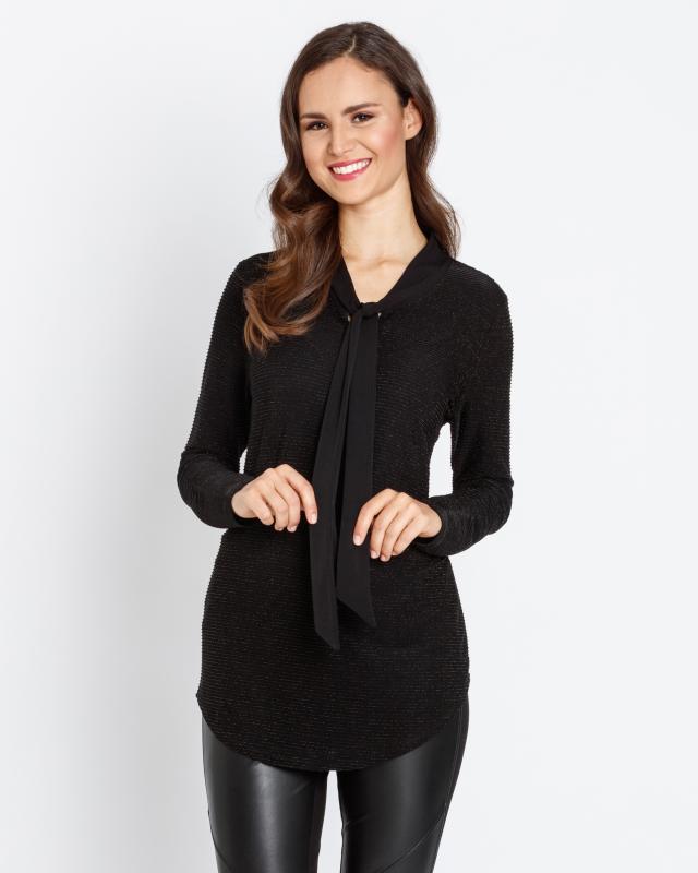 Блуза, р. 52, цвет черный