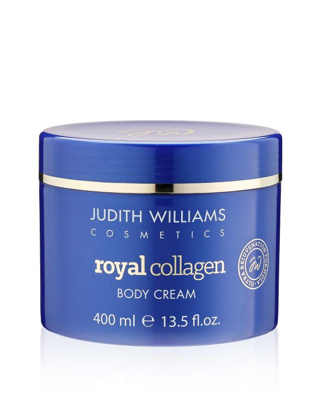 Укрепляющий крем для тела 400 мл Judith Williams Royal Collagen фото